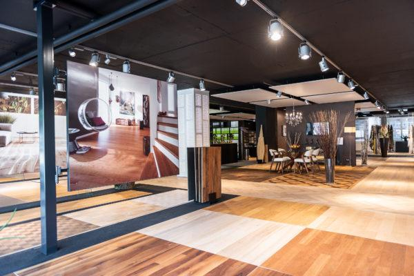 Showroom Hassler Boden und Vorhang Zürich