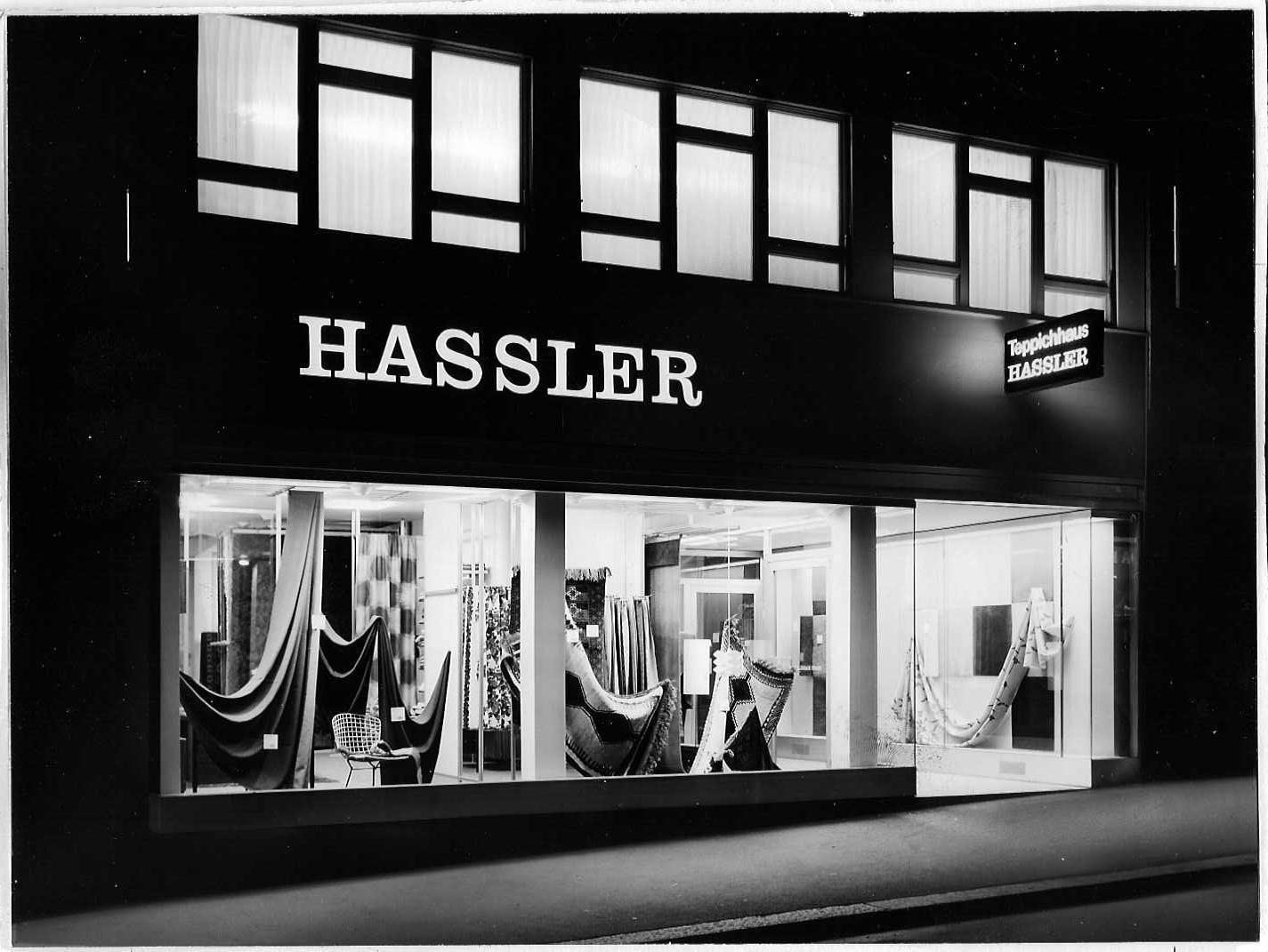 Hassler Gebäude Teppichhaus