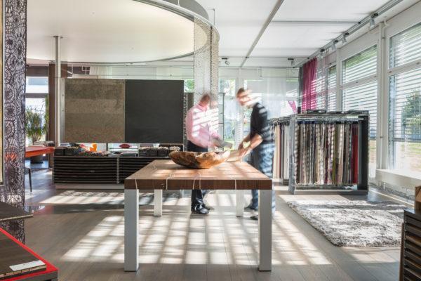 Showroom ZUG von Hassler in der Schweiz